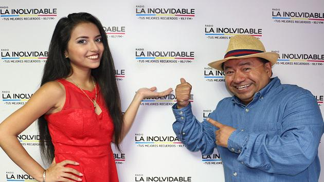 La Pantojita visitó la cabina de Radio La Inolvidable (FOTOS y VIDEO)