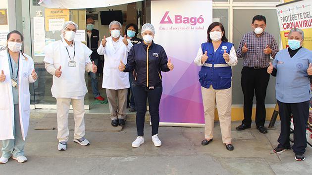 Laboratorios Bagó donó más de medio millón de equipos para luchar contra el COVID-19