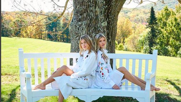 Las hijas de Julo Iglesias arrasan en las redes sociales