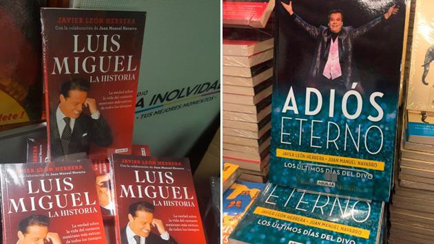 El libro de Luis Miguel es más vendido que el de Juan Gabriel