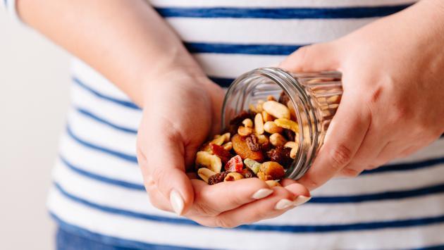 Los frutos secos aumentan tu energía
