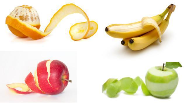 ¡Estos son los beneficios de las cáscaras de frutas!