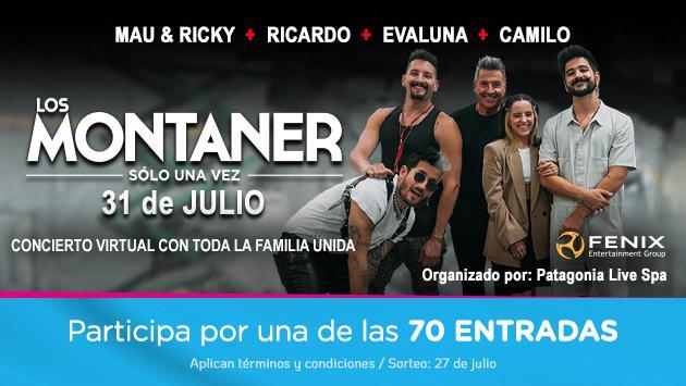 Participa por entradas para el concierto Los Montaner 'solo una vez'