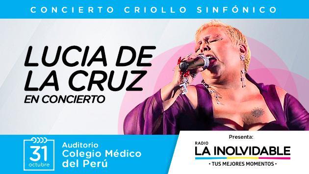 Celebra el Día de la Canción Criolla con Lucía de la Cruz en concierto