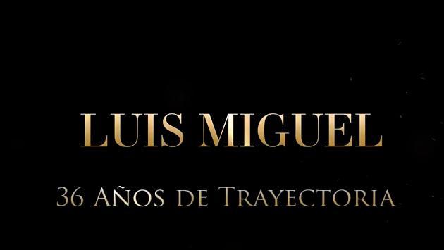 Luis Miguel cumplió 36 años de trayectoria y lo celebró así