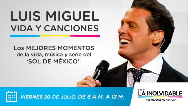 Luis Miguel, vida y canciones: los mejores momentos de la vida, música y serie del Sol de México