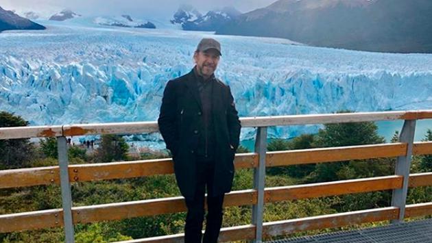 Marco Antonio Solís publicó un emotivo video de su paseo por el glaciar Perito Moreno