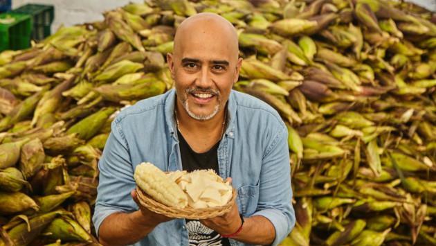 Marco Romero rompe las redes y lanza 'Choclo con queso'