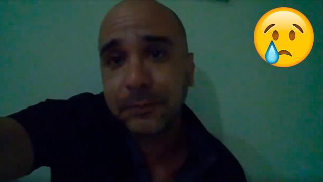 Mira el conmovedor video que le deja su hijo a Augusto Polo Campos
