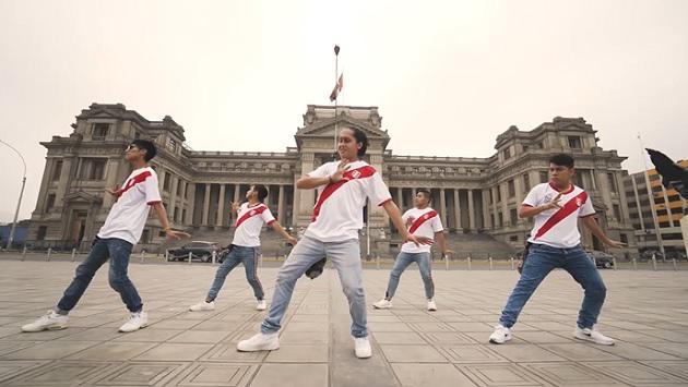 Mira esta coreografía de 'Contigo Perú' en homenaje a la Blanquirroja [VIDEO]