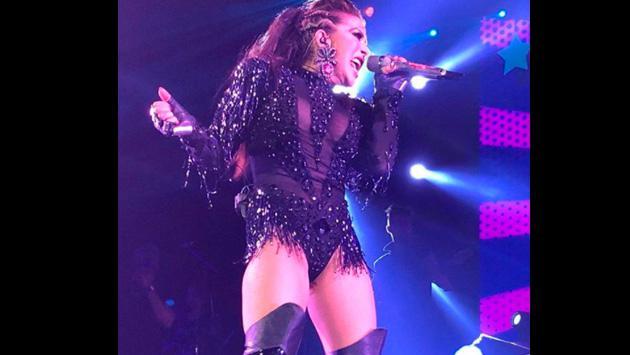 Mira los atrevidos vestidos que luce Alejandra Guzmán en sus conciertos