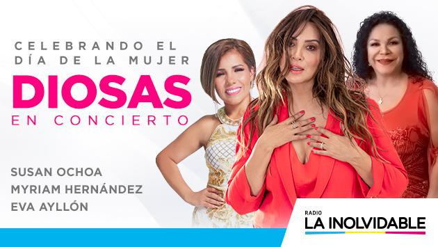 Myriam Hernández vuelve al Perú en 'Diosas en Concierto'