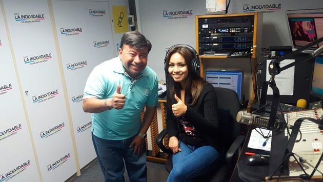La 'Myriam Hernández peruana' visitó 'La Hora del Lonchecito' con Koky Salgado