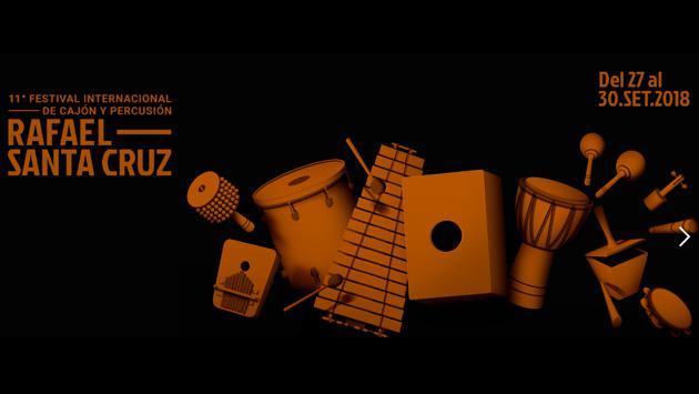 ¡No te puedes perder el festival más grande del cajón y la percusión!