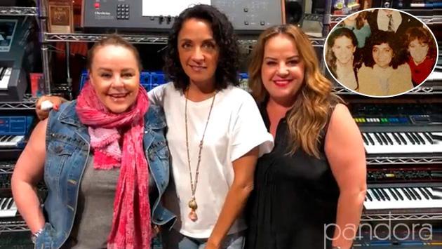 Las chicas de Pandora comparten una imagen con Luis Miguel