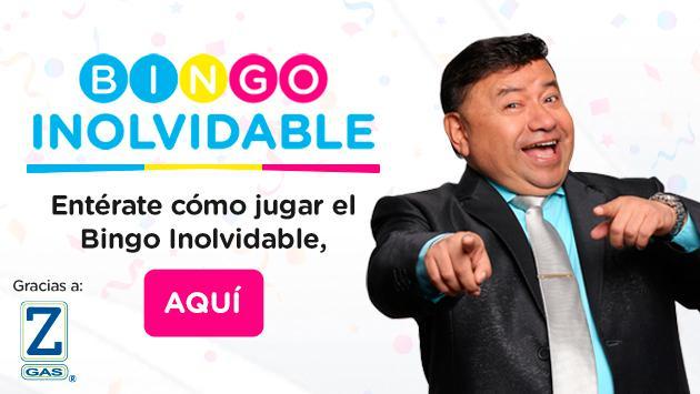 ¡Participa del Bingo Inolvidable!