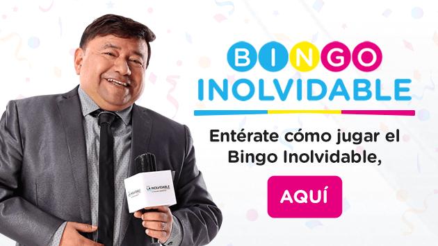 Participa en EL BINGO INOLVIDABLE