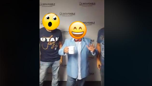 ¿'Pepe Lucho' visitó la cabina de Radio La Inolvidable?