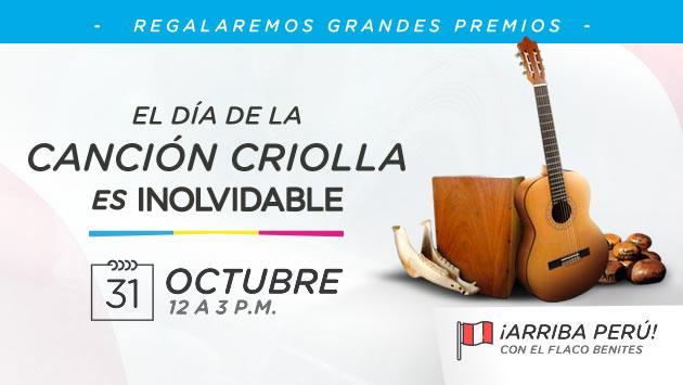 ¡Radio La Inolvidable celebra el Día de la Canción Criolla premiando a sus oyentes!