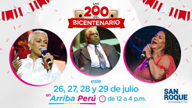Vive las Fiestas Patrias con 'Las 200 del Bicentenario' en Radio La Inolvidable