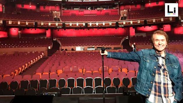 Raphael llegó a San Francisco y se mostró emocionado por su concierto