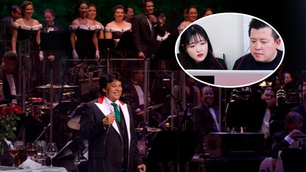 Mira la reacción de dos surcoreanos al escuchar por primera vez a Juan Gabriel