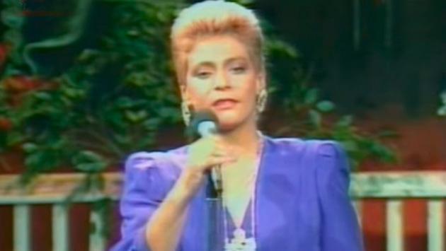 Recuerda cuando Lucía de la Cruz interpretó 'Yo Perdí el Corazón' en 1989
