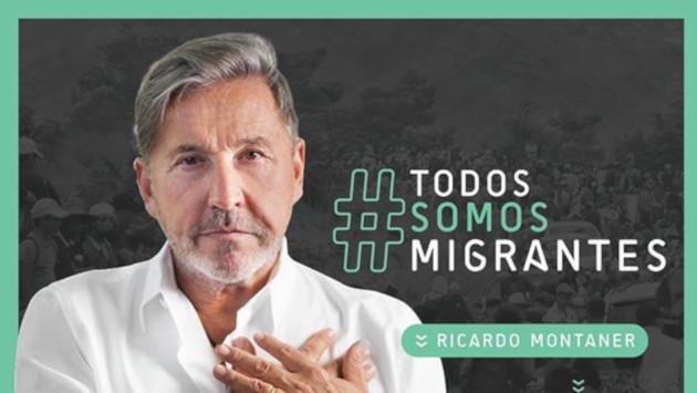 Ricardo Montaner se suma a una campaña de solidaridad a favor de los migrantes venezolanos