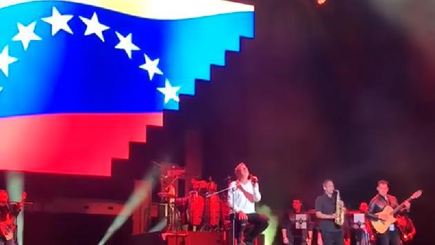 Ricardo Montaner le dedicó a Venezuela su reciente concierto en Miami