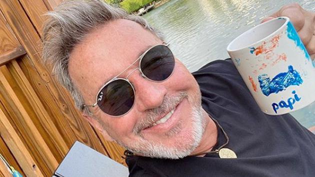 Ricardo Montaner presentó a su hijo mayor en Instagram