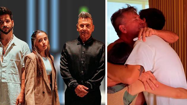 Ricardo Montaner será abuelo, Evaluna está embarazada de Camilo Echeverry