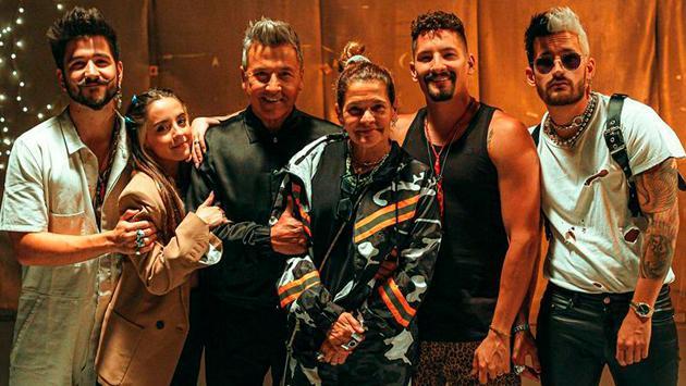 Ricardo Montaner y familia empezaron la grabación de su serie