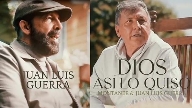 Ricardo Montaner y Juan Luis Guerra estrenarán 'Dios así lo quiso', una nueva colaboración