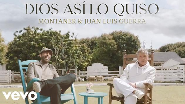 Ricardo Montaner y Juan Luis Guerra estrenaron su primer tema juntos 'Dios así lo quiso'