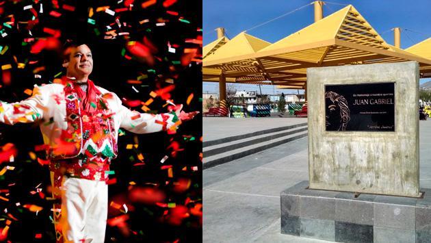 Rinden homenaje a Juan Gabriel en su tierra natal de Juárez
