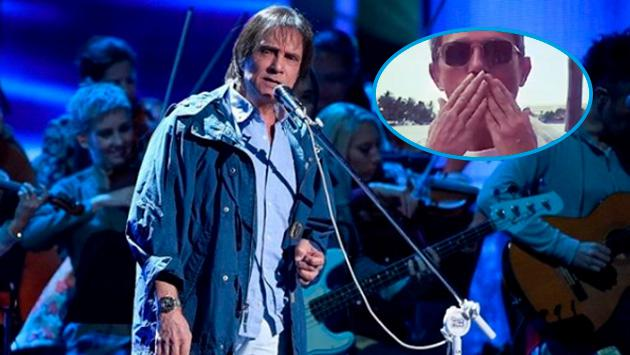 Roberto Carlos hará un dúo con este cantante