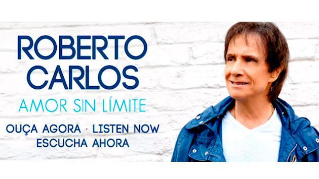 Roberto Carlos presenta su nuevo álbum 'Amor sin límite'