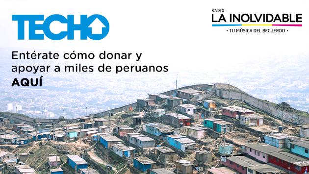 TECHO PERÚ: ¡Ayuda desde casa a los que más los necesitan!