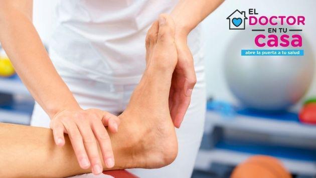 Tengo un dolor en el talón cuando piso y cuando muevo el pie, ¿qué puedo hacer?