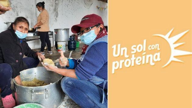 'Un sol con proteína': Proyecto social que cambia la vida de una persona
