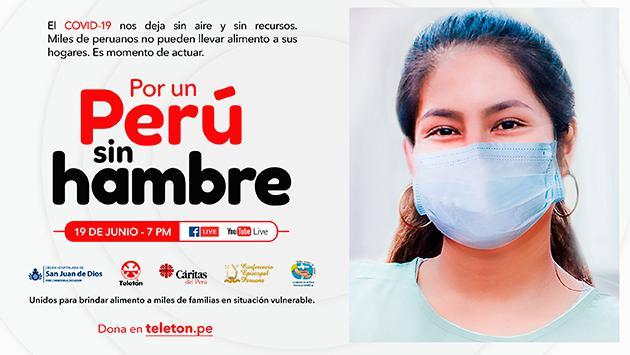 ¡Únete a la Teletón por un Perú sin hambre!