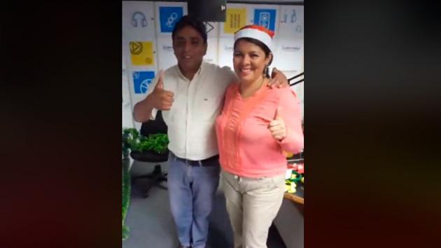 Víctor Infantas y Claudia le dedicaron un hermoso mensaje a todos sus fans