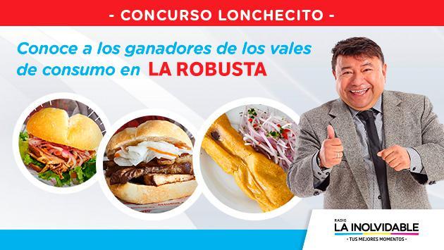 ¡Ya salieron los ganadores de los 7 vales de consumo en la sanguchería La Robusta!