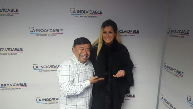 La 'Yuri peruana' estuvo en 'La Hora del Lonchecito' con Koky Salgado