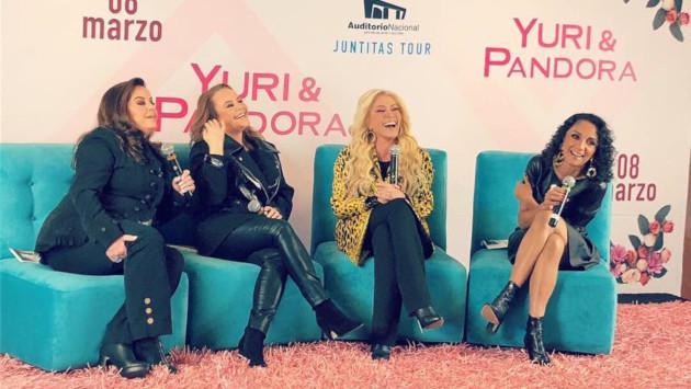 Yuri y Pandora rendirán un tributo a Juan Gabriel durante su concierto en Lima