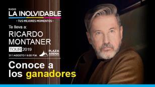 ¡Estos son los 15 ganadores que irán al concierto de Ricardo Montaner!
