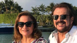 Alberto Barros realizó homenaje a Pimpinela, con apoyo de Lucía y Joaquín Galán