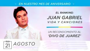 'Amor eterno' se consagró como la canción más votada del 'Ranking Juan Gabriel: Vida y Canciones'