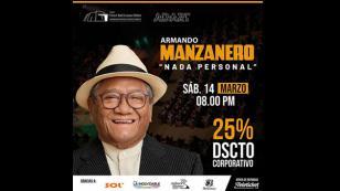 Armando Manzanero llega a Trujillo con su concierto