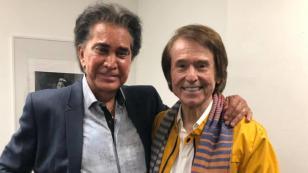 Así fue el memorable encuentro entre José Luis Rodríguez y Raphael